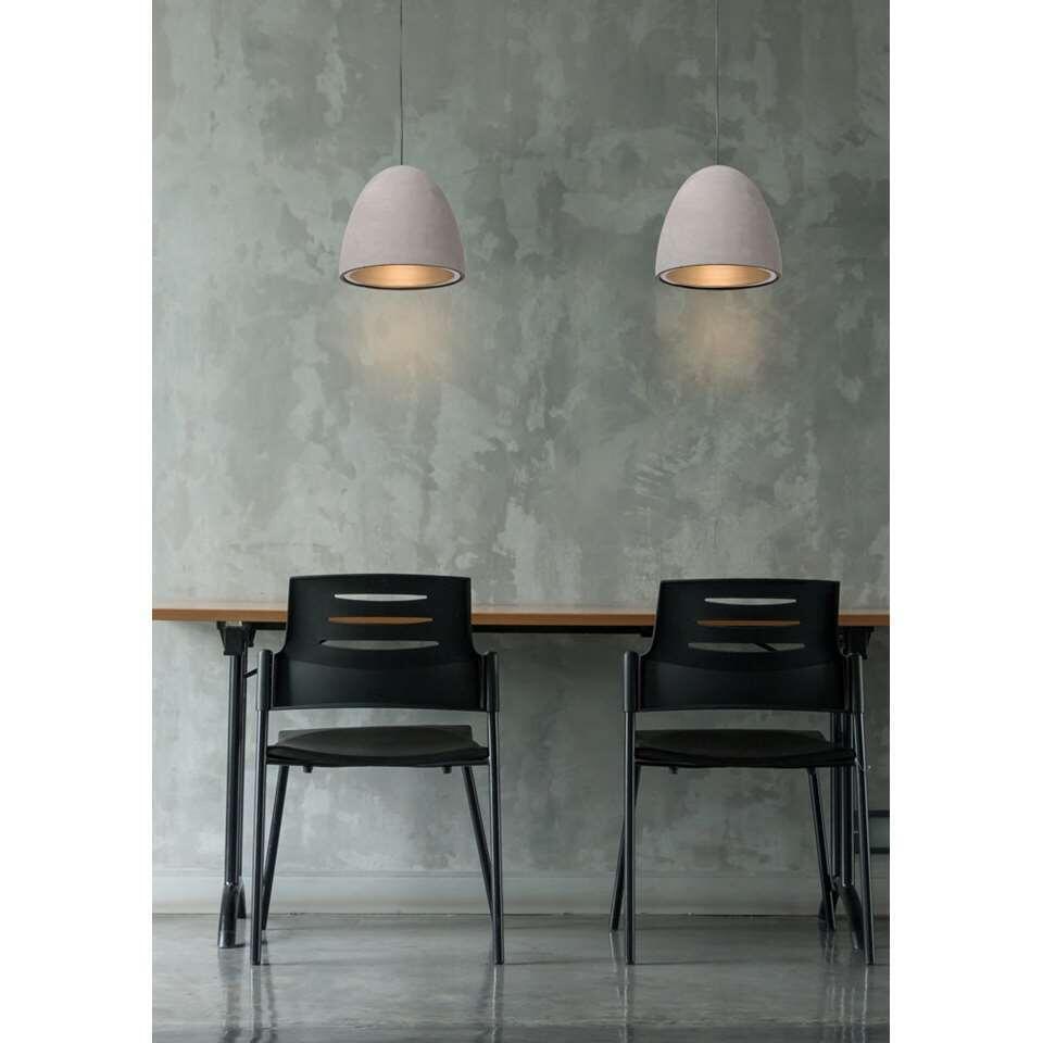 Lucide hanglamp Solo – taupe – Leen Bakker