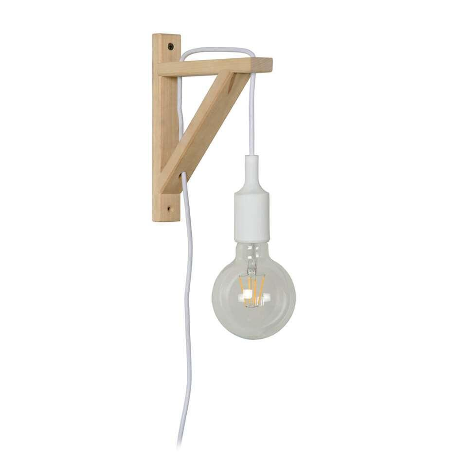 Lucide wandlamp Fix Wall - wit