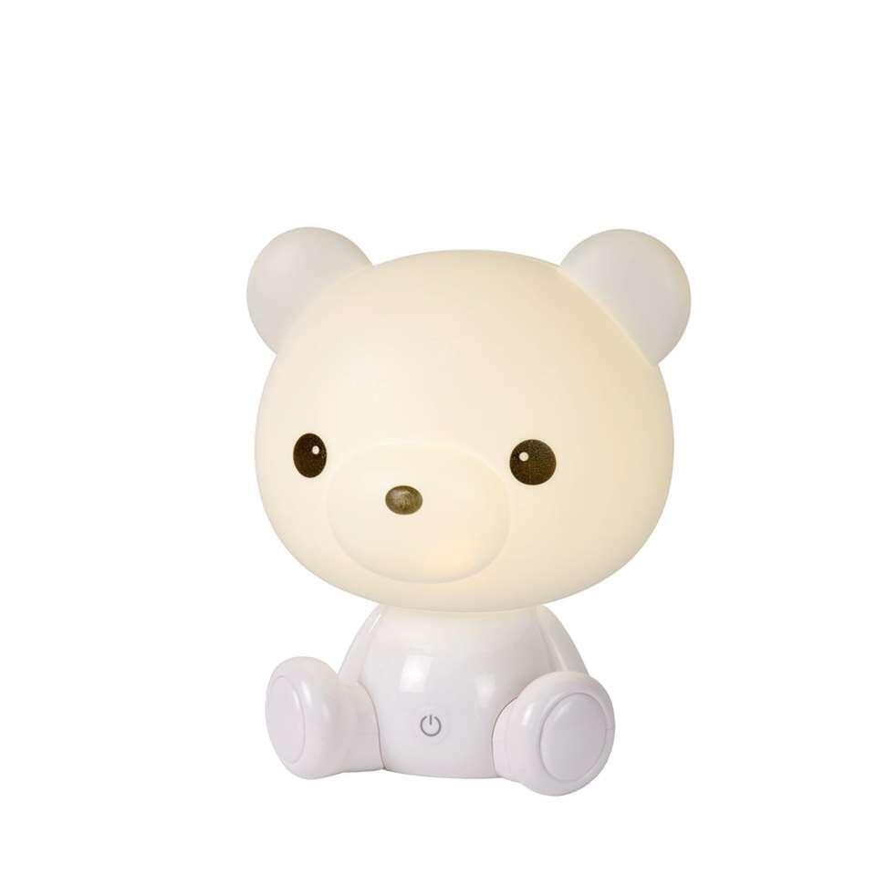 Lucide tafellamp Dodo Bear - wit