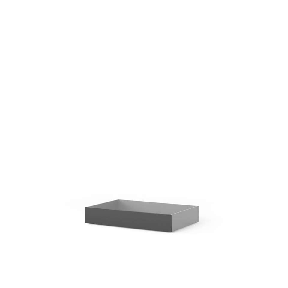 Bedlades Naia - mat zwart (2 stuks)