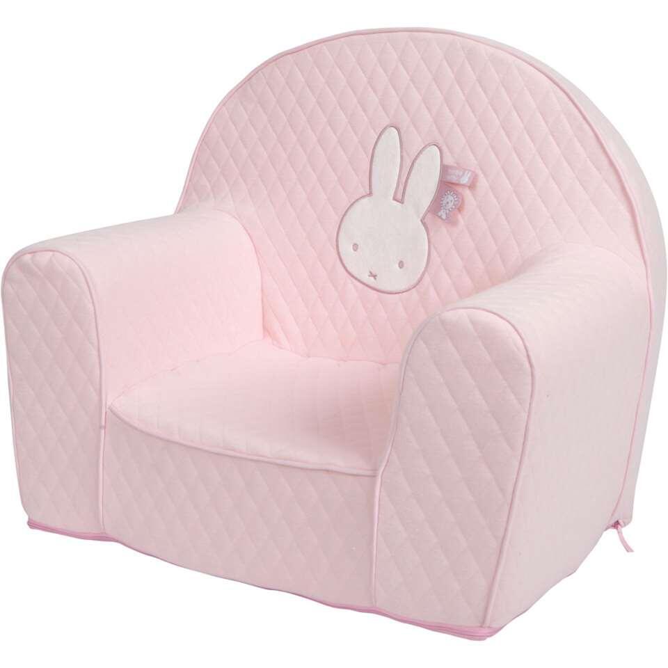 Kinderfauteuil Nijntje – roze – Leen Bakker