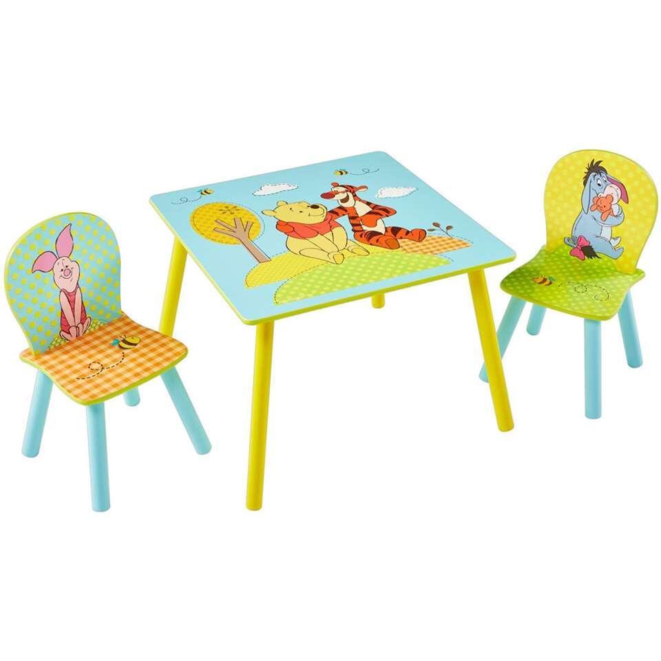 Tafel met stoeltjes Disney Winnie de Poeh - multikleur - Leen Bakker