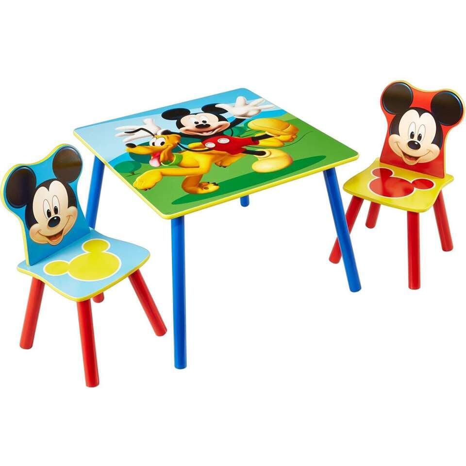 Tafel met stoeltjes Disney Mickey Mouse - multikleur - Leen Bakker