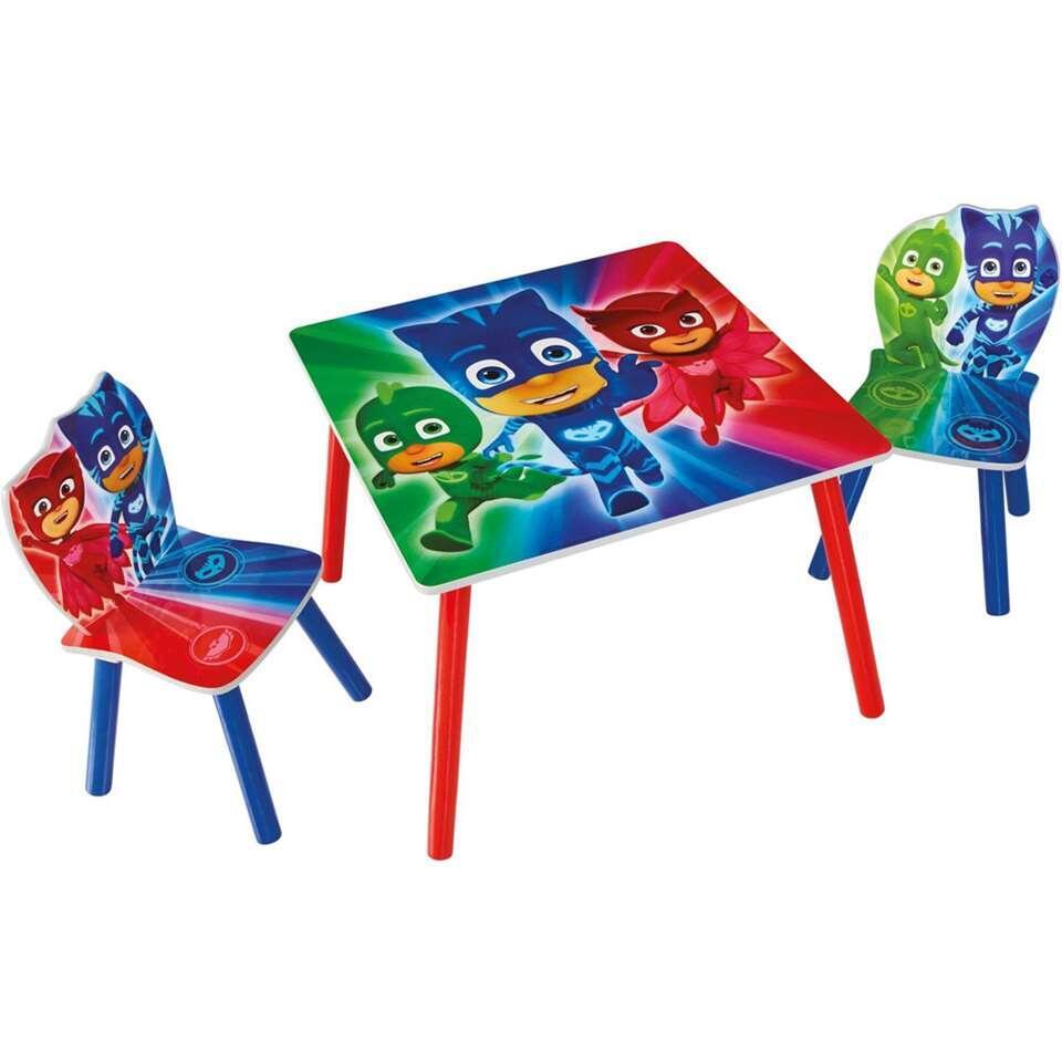 Tafel met stoeltjes PJ Masks - multikleur - Leen Bakker