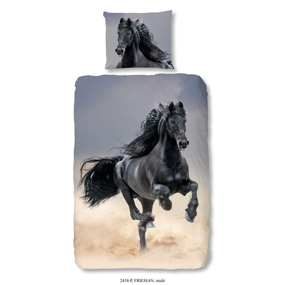 Good Morning kinderdekbedovertrek Friesian - multikleur - 140x200/220 cm
