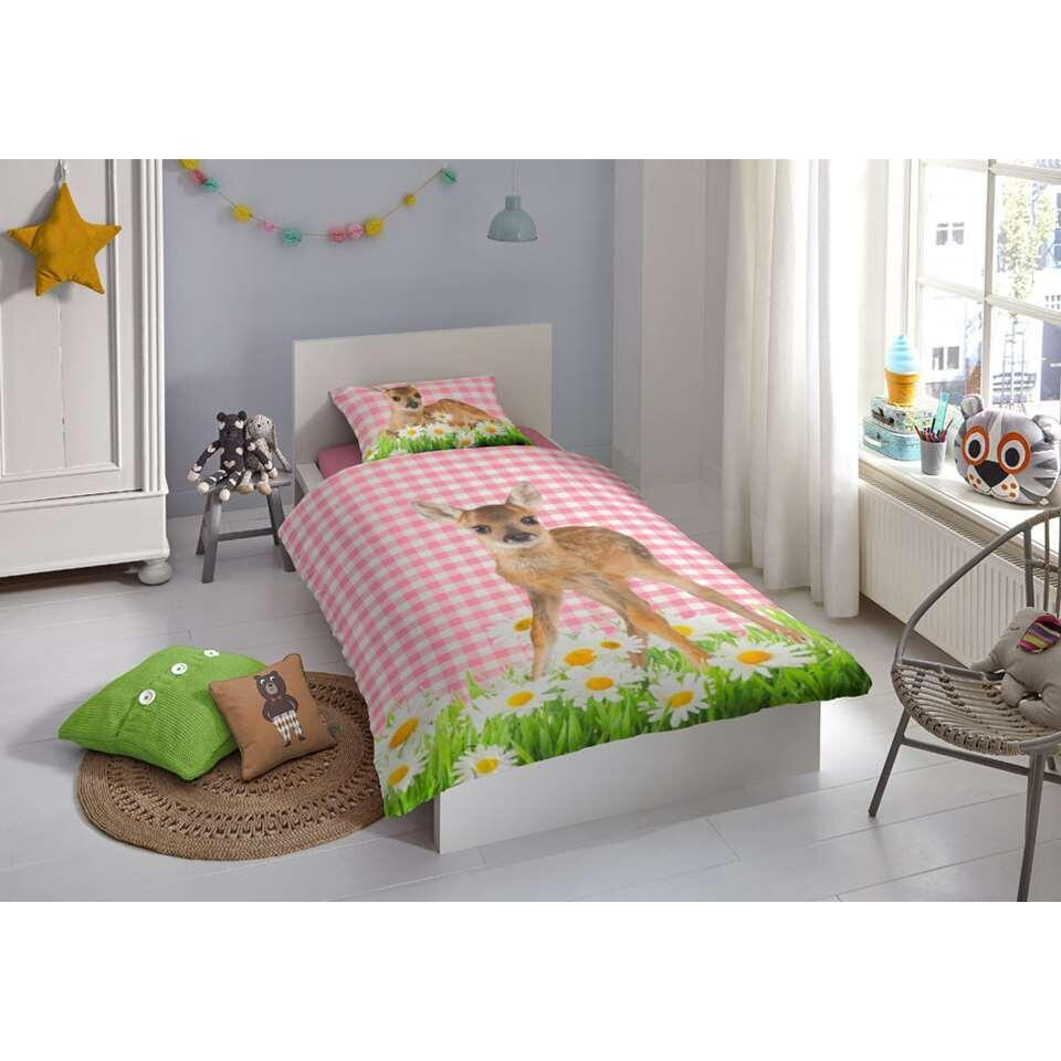 Good Morning kinderdekbedovertrek Bambi - multikleur - 140x200/220 cm