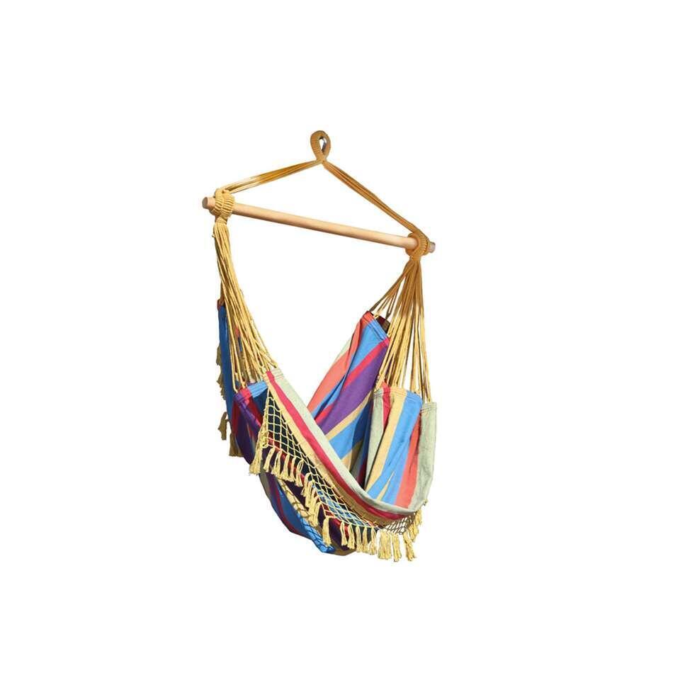 Vivere hangstoel Brazilian Style - 1-persoons - tropical - Leen Bakker
