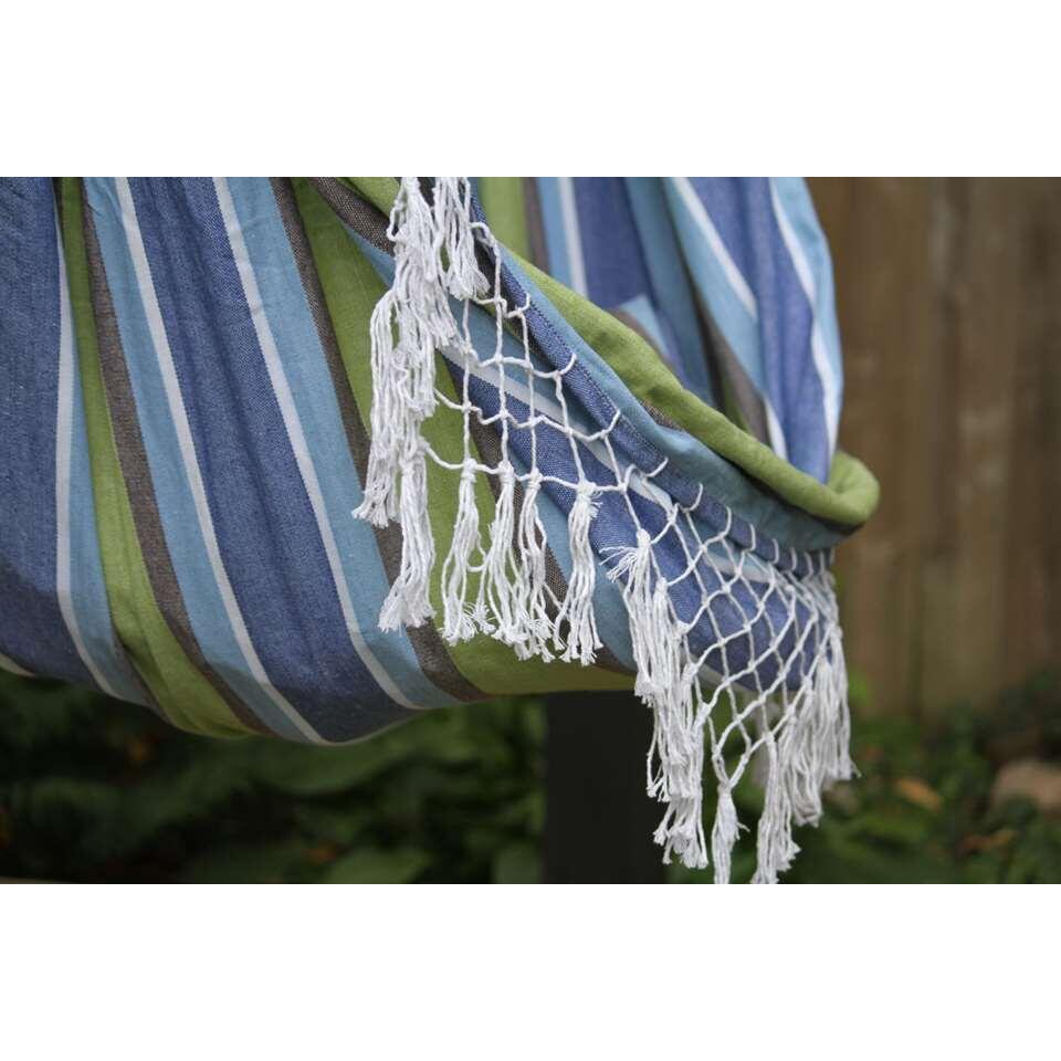 Vivere hangstoel Brazilian Style - 1-persoons - oasis - Leen Bakker