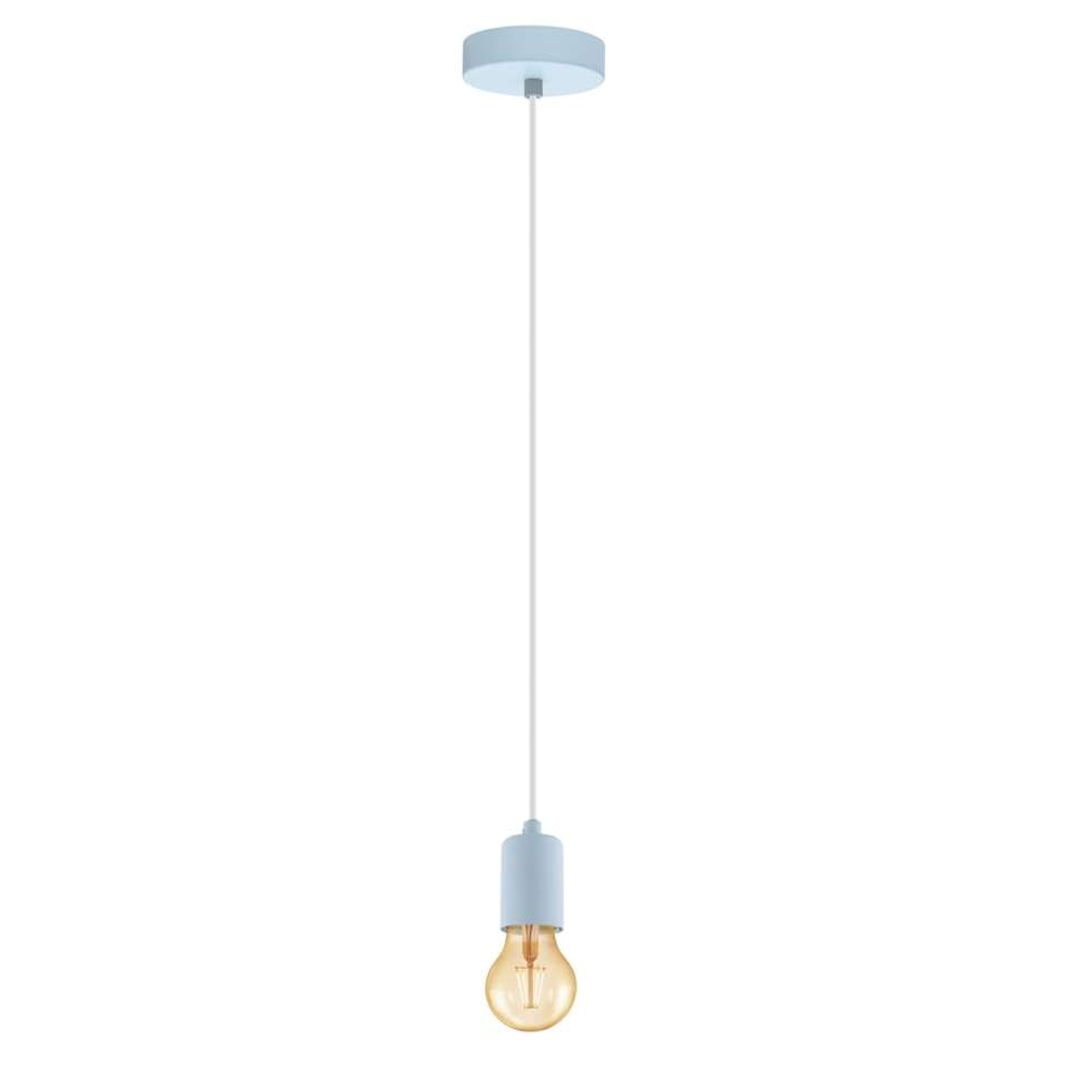 EGLO hanglamp Yorth-p - lichtblauw - Leen Bakker