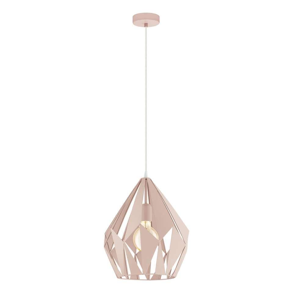 EGLO hanglamp Carlton - roze - Leen Bakker