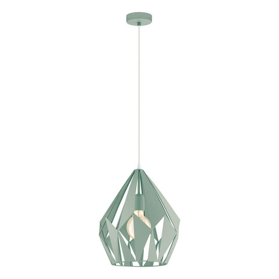 EGLO hanglamp Carlton - felgroen