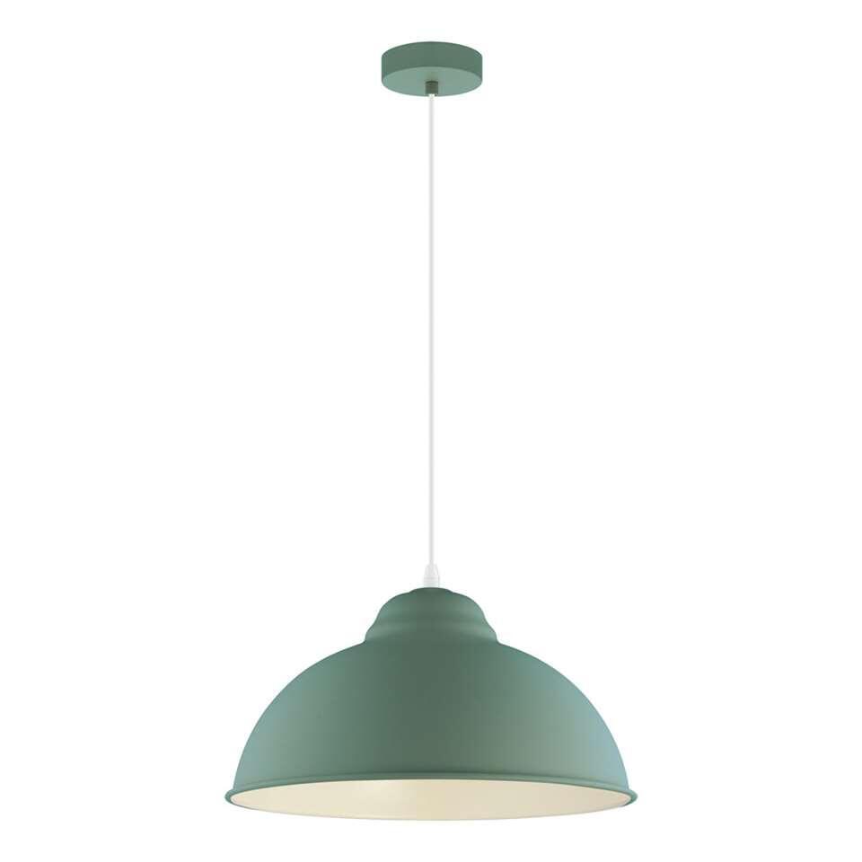 EGLO hanglamp Truro-p - donkergroen - Leen Bakker