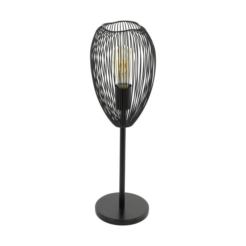 EGLO tafellamp Clevedon - zwart - Leen Bakker