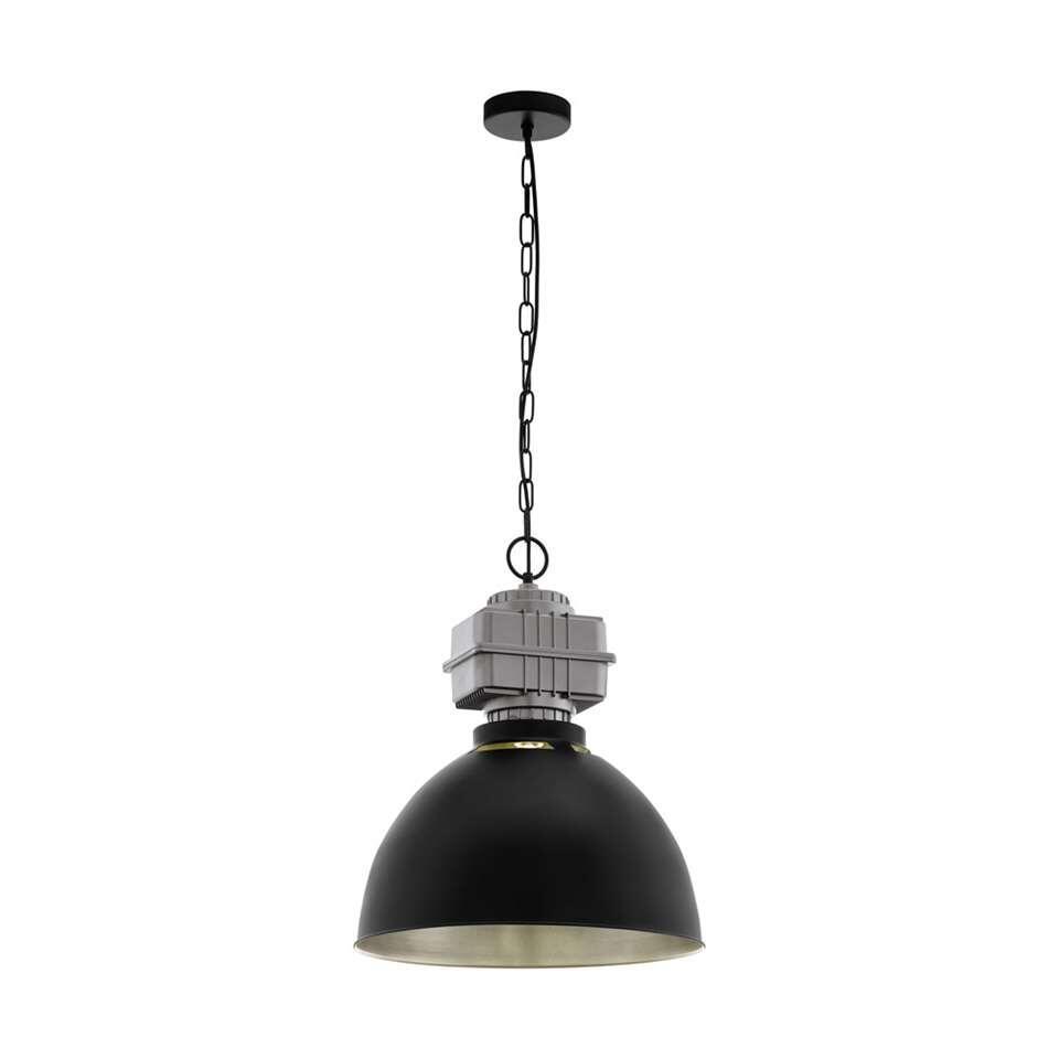EGLO hanglamp Rockingham - zwart/grijs