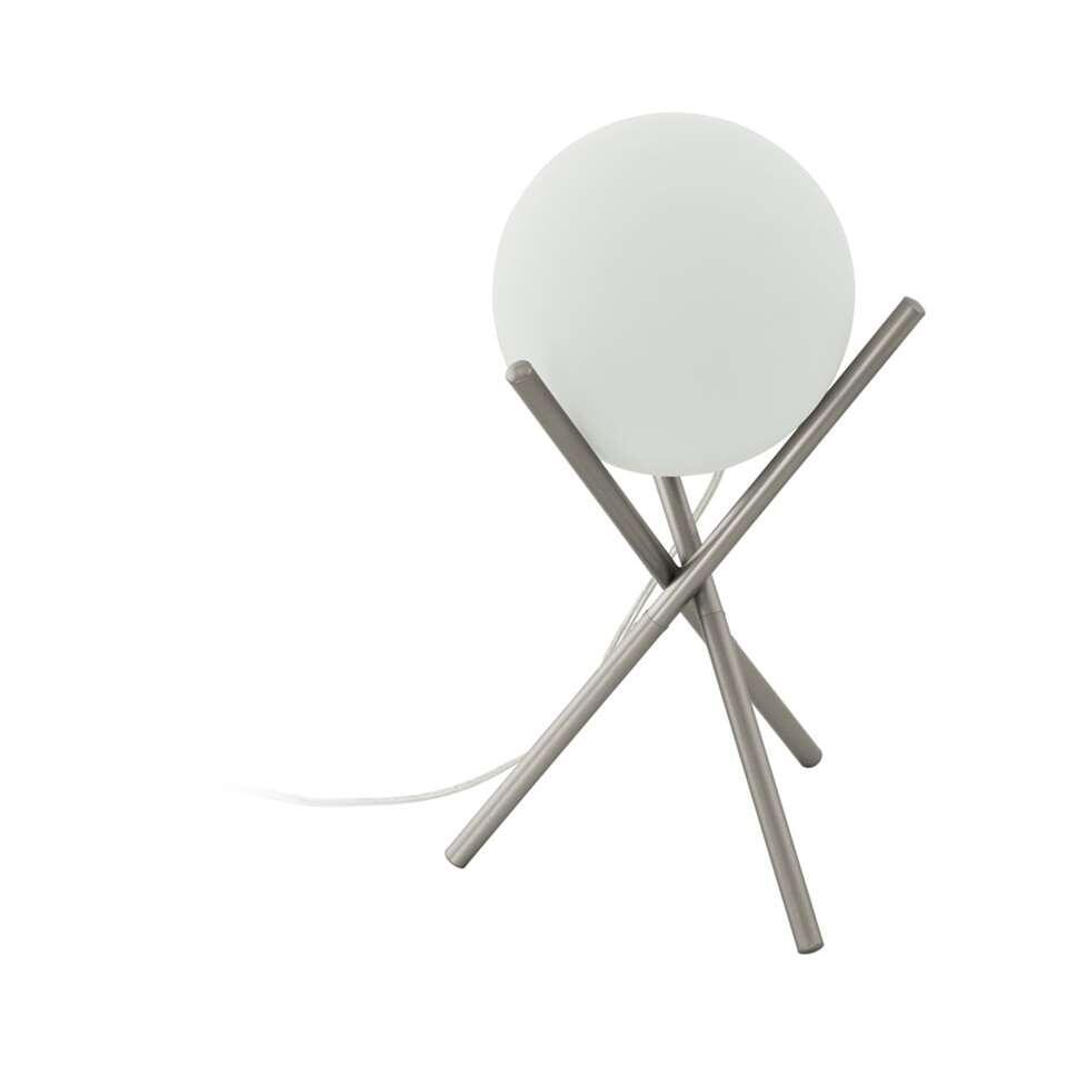 EGLO tafellamp Castellato - champagnekleur/wit