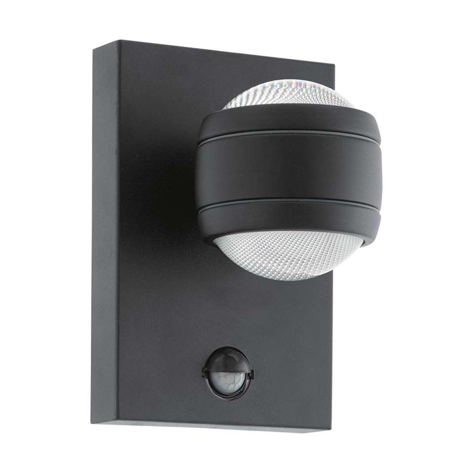 EGLO wandlamp Sesimba LED 2-lichts – zwart – Leen Bakker