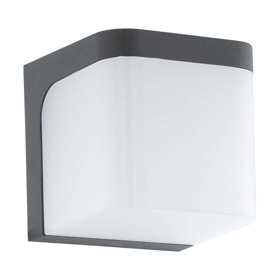 EGLO wandlamp Jorba LED - antraciet/wit - Leen Bakker