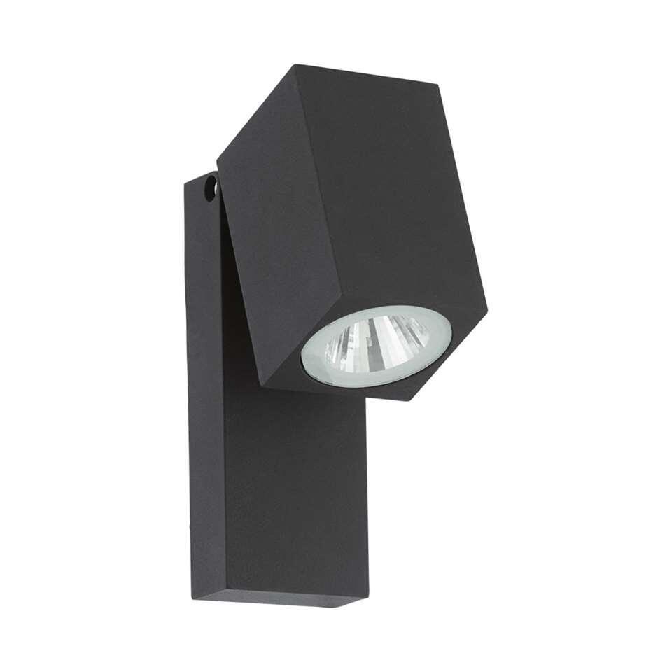 EGLO richtbare wandlamp Sakeda LED - antraciet