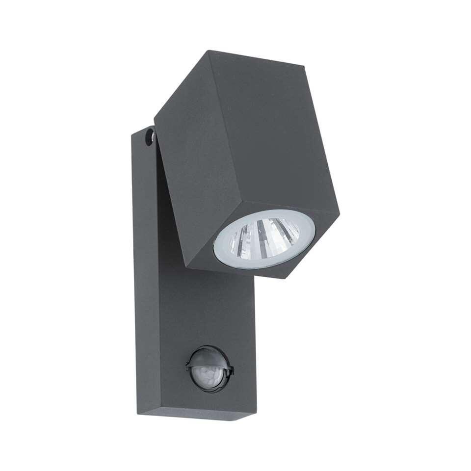 EGLO sensorwandlamp Sakeda LED-- antraciet