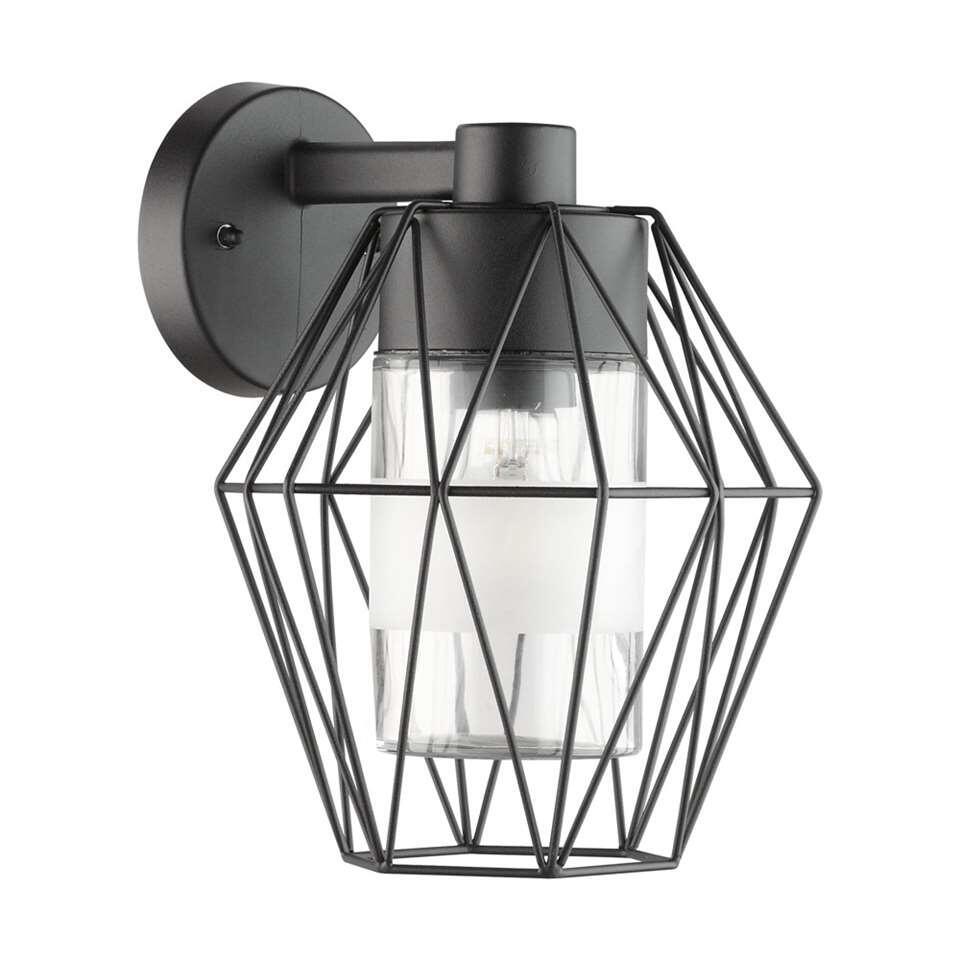 EGLO wandlamp Canove - zwart - Leen Bakker
