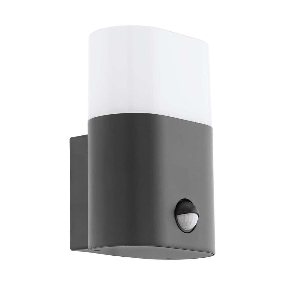 EGLO wandlamp Favria 1 LED - antraciet/wit - Leen Bakker