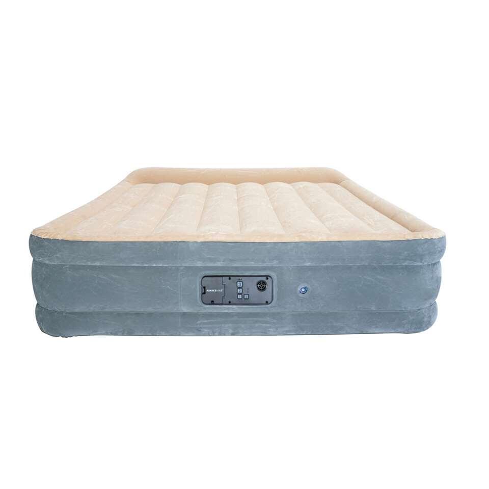 Bestway luchtbed Sleepessence alwayzaire queen - 203x152x43 cm - Leen Bakker