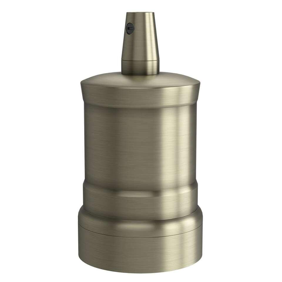 Calex lamphouder E27 -  brons