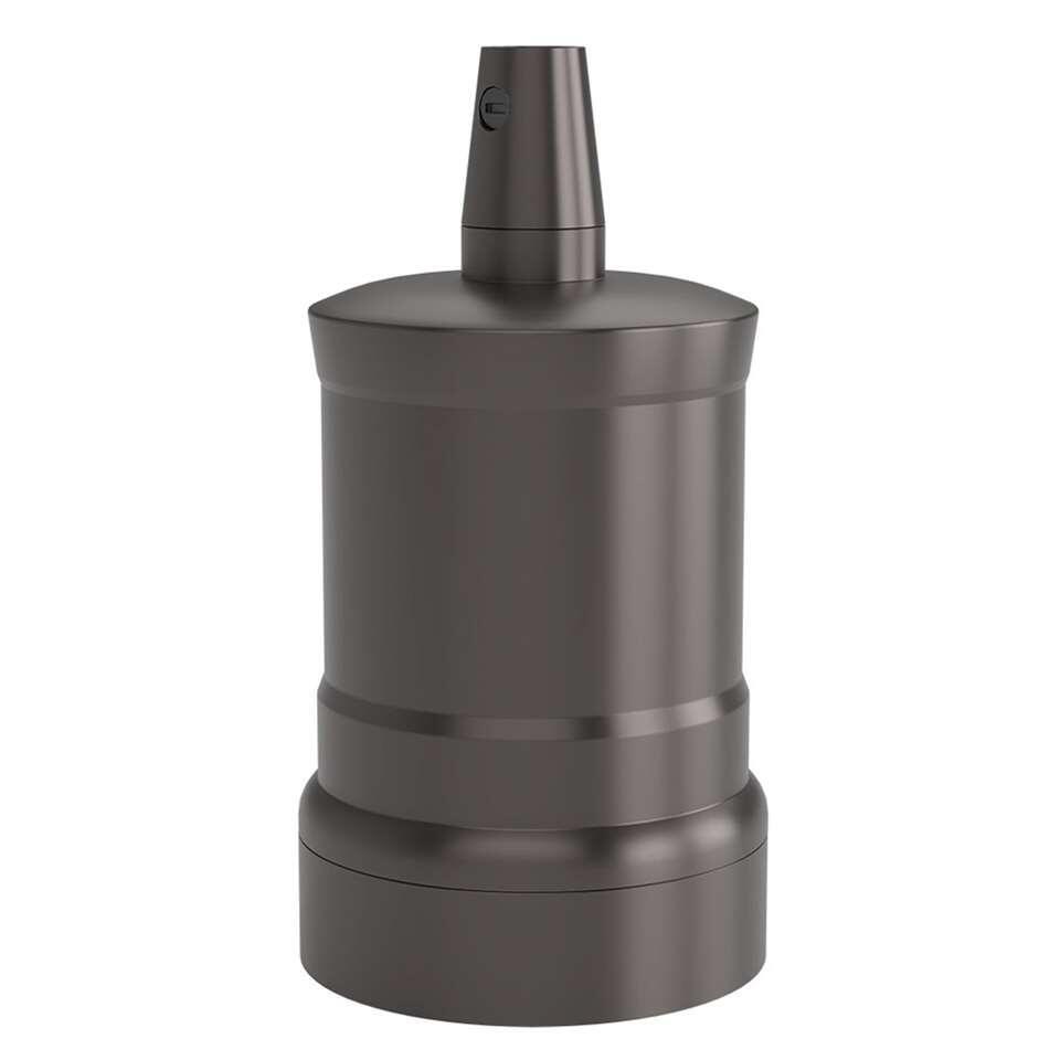 Calex lamphouder E27 -  zwart