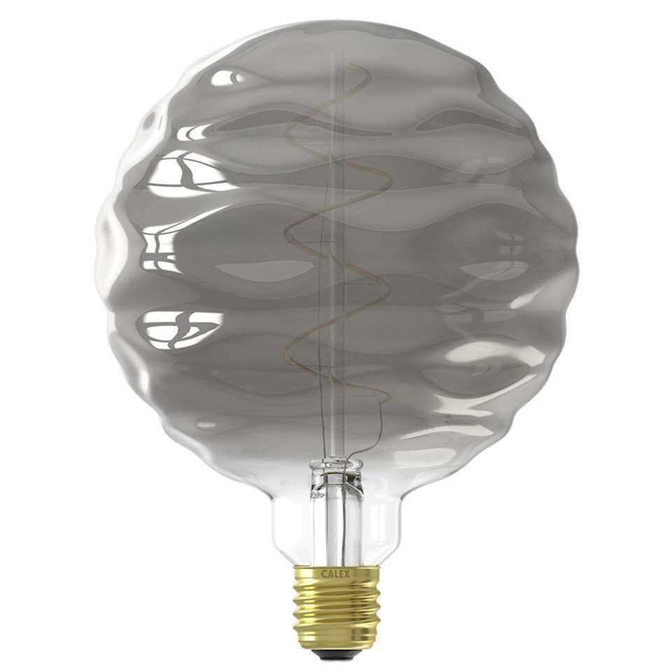 Calex Bilbao LED lamp – titanium – 4W – Leen Bakker