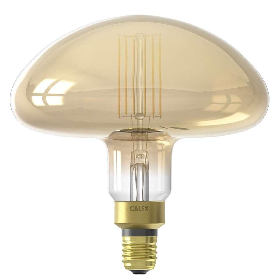 Calex Calgary LED lamp – goud – 6W – Leen Bakker