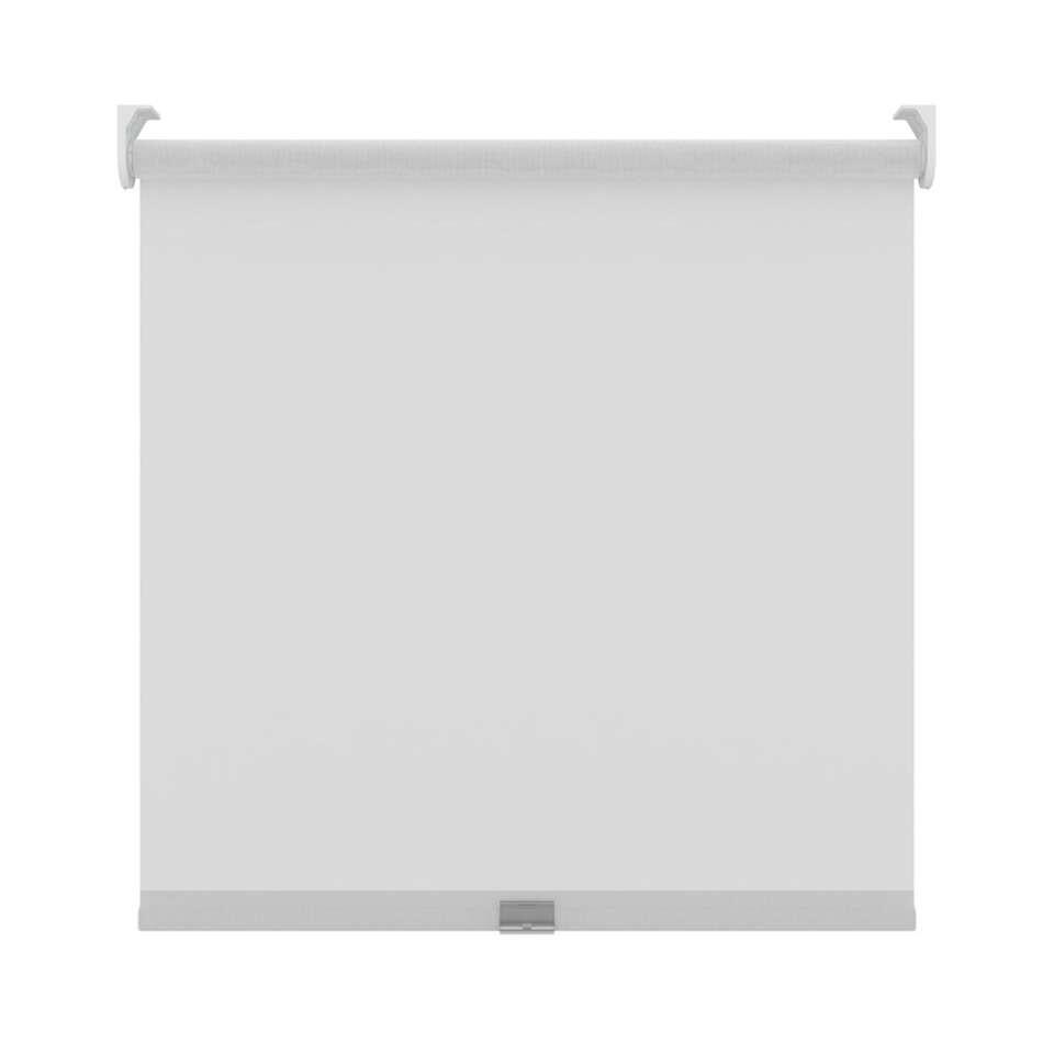 Rolgordijn koordloos lichtdoorlatend - wit - 90x190 cm
