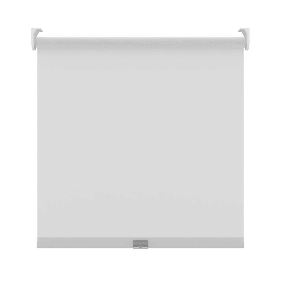 Rolgordijn koordloos lichtdoorlatend - wit - 210x190 cm - Leen Bakker