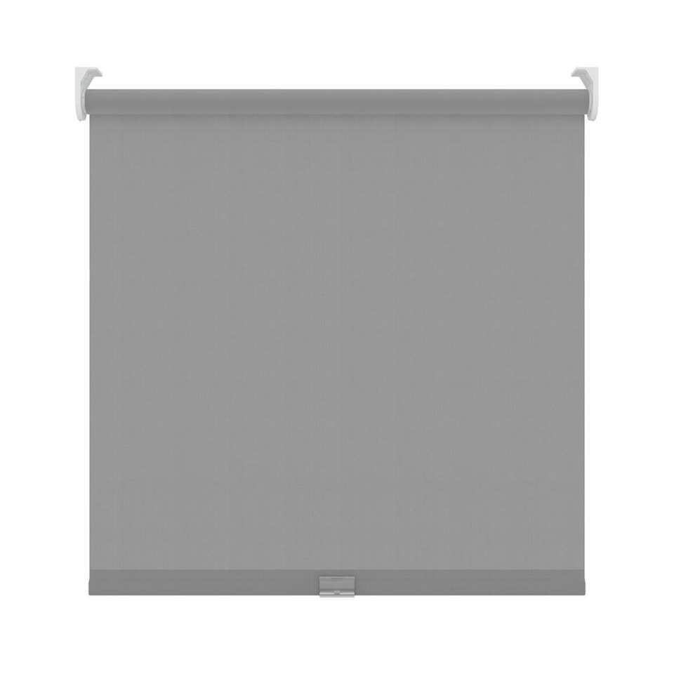 Rolgordijn koordloos lichtdoorlatend - lichtgrijs - 90x190 cm