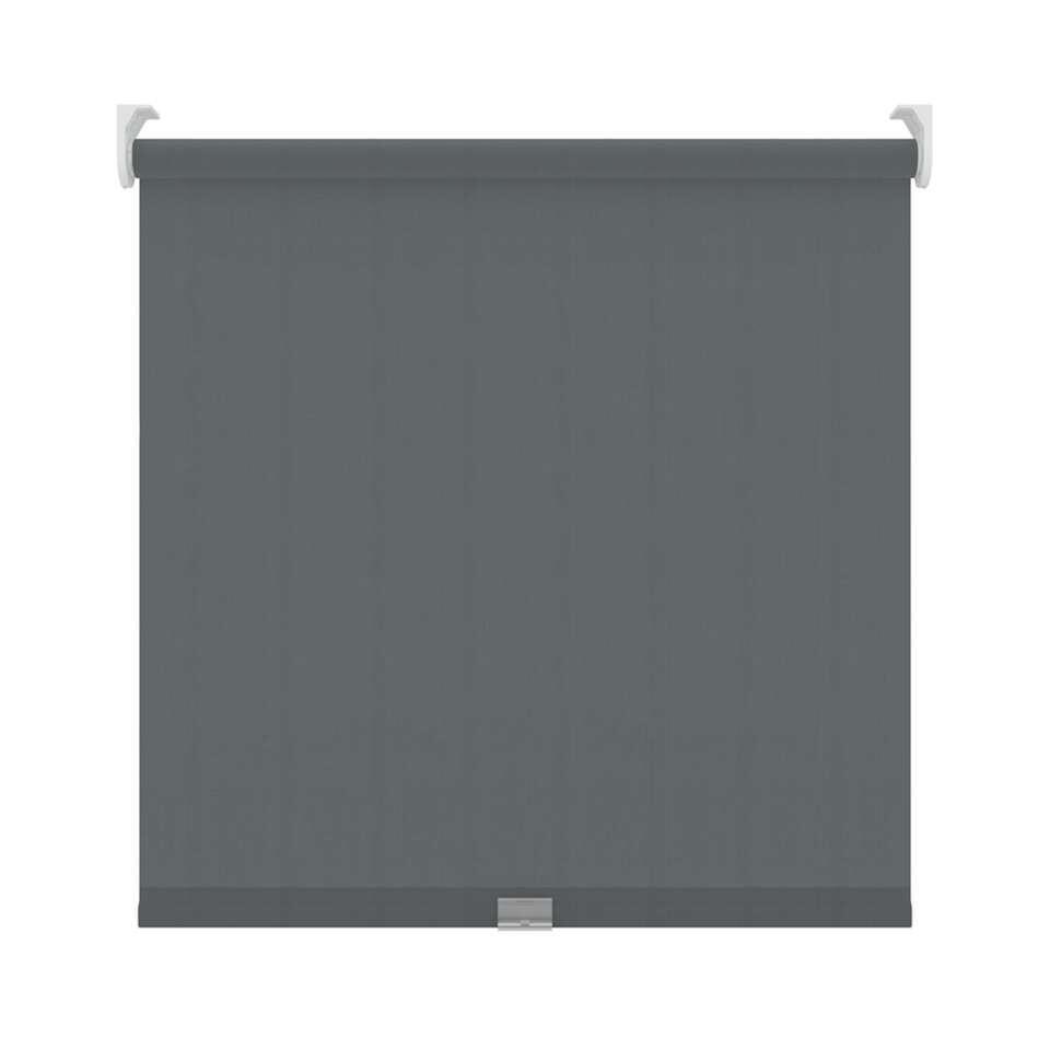 Rolgordijn koordloos lichtdoorlatend - antraciet - 90x190 cm