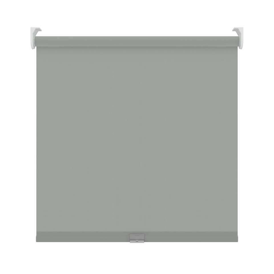 Rolgordijn koordloos verduisterend - muisgrijs - 90x190 cm
