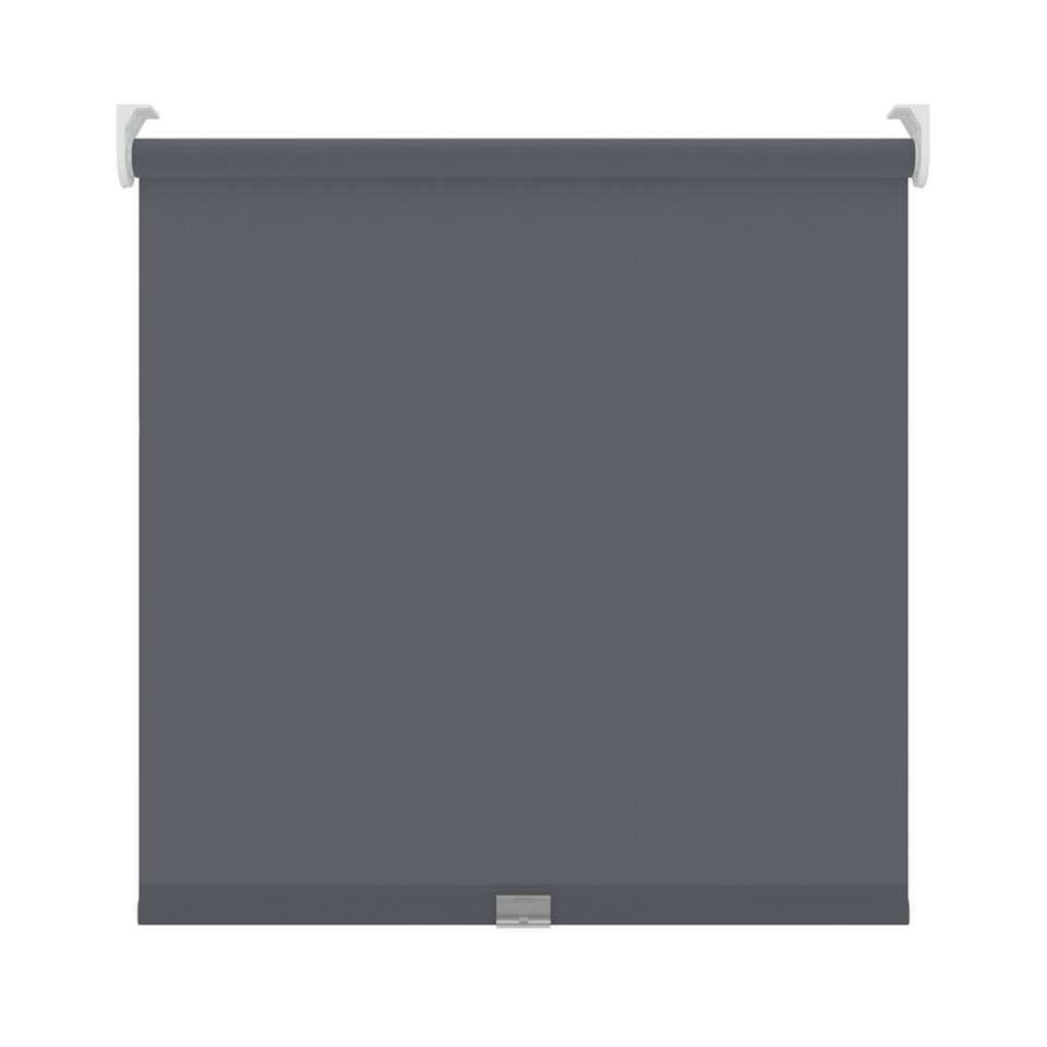 Rolgordijn koordloos verduisterend - antraciet - 150x190 cm