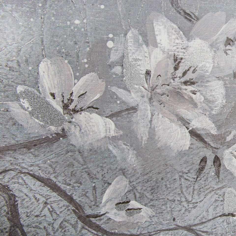 Art For The Home schilderijset Orchidee - grijs/wit - 2x 60x80 cm - Leen Bakker