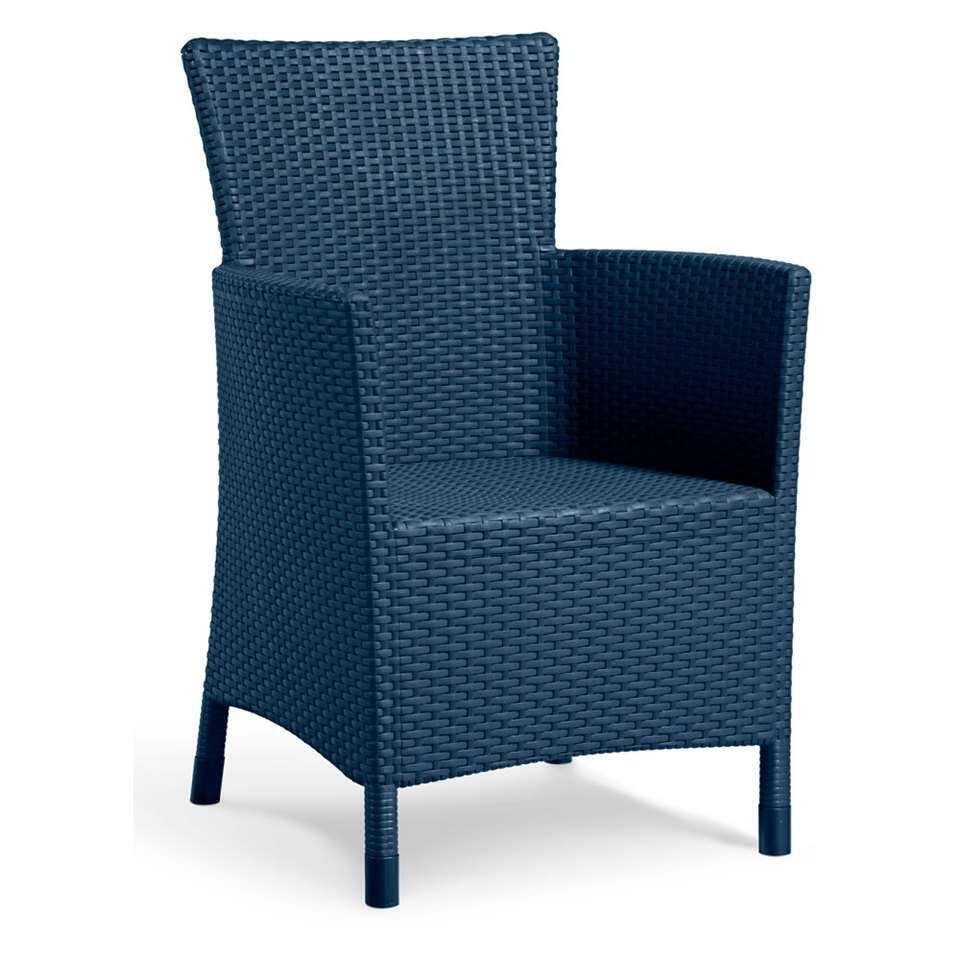Allibert fauteuil Iowa - petrol - Leen Bakker