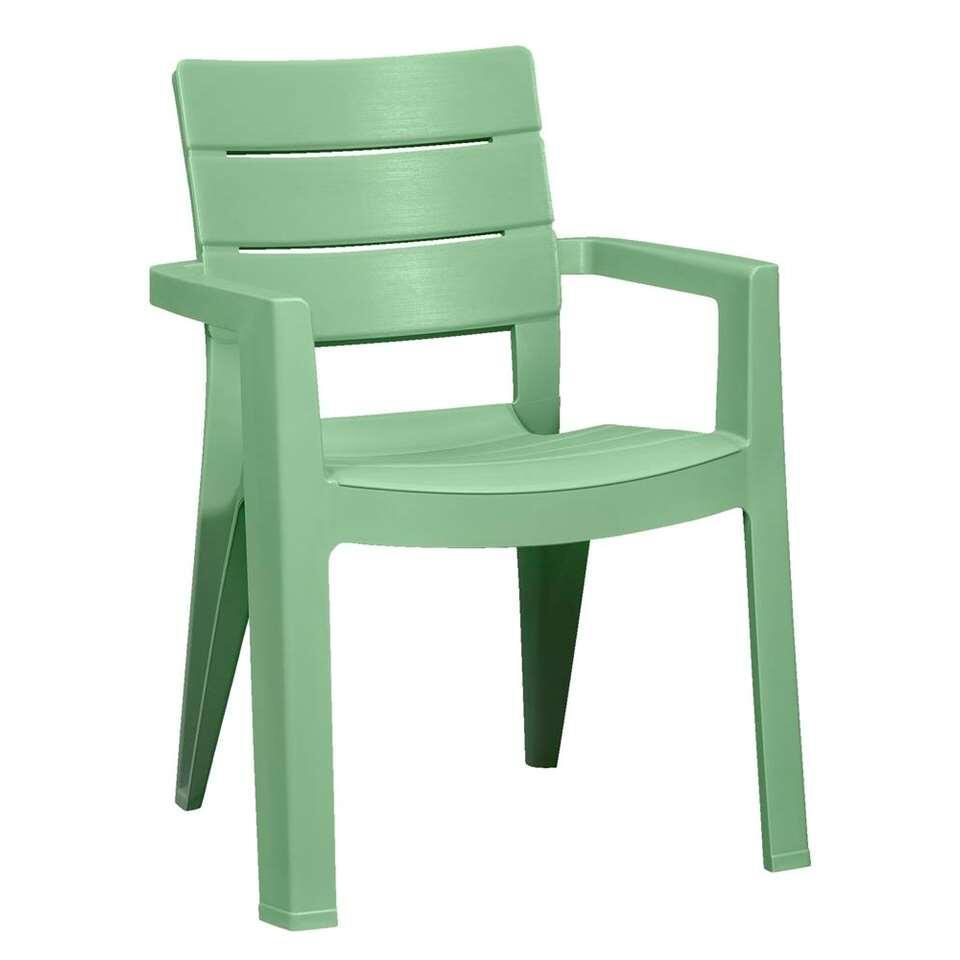 Allibert stapelstoel Ibiza - lichtgroen - Leen Bakker
