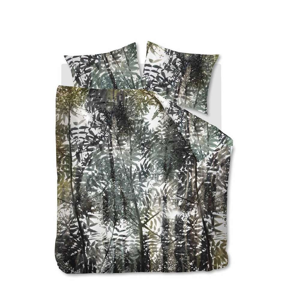 Ambiante dekbedovertrek Jayda - groen - 240x200/220 cm
