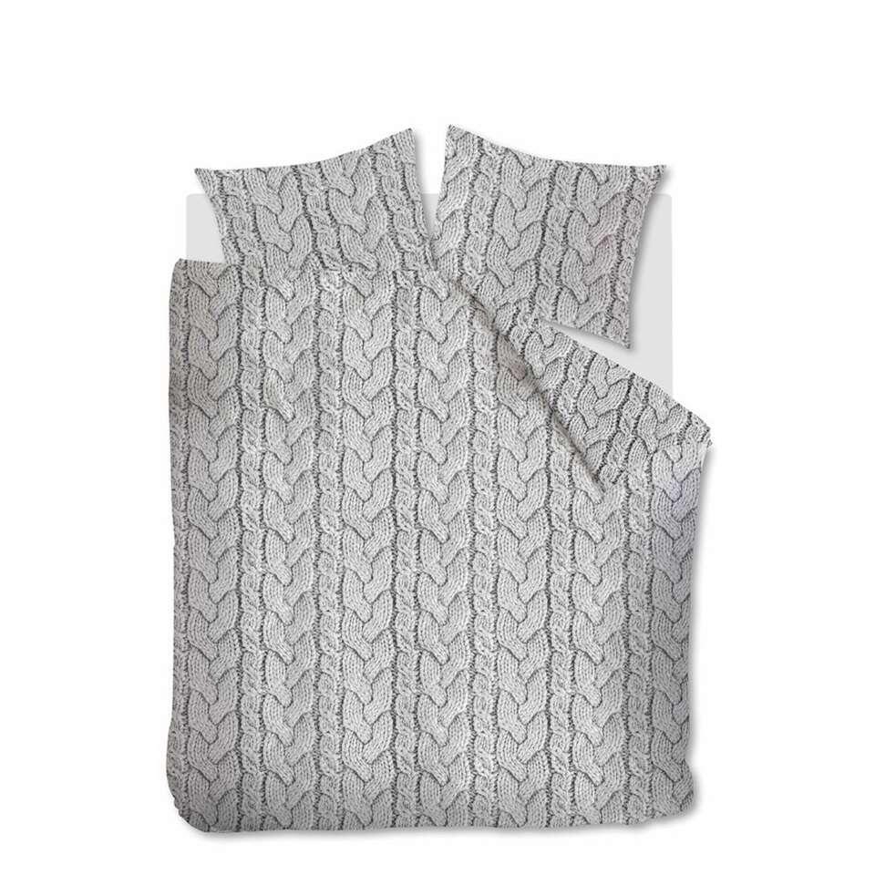 Ambiante dekbedovertrek Lars lichtgrijs - 200x200/220 cm