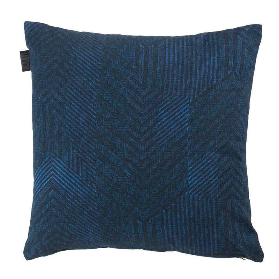 KAAT Amsterdam sierkussen Azul – blauw – 45×45 cm – Leen Bakker