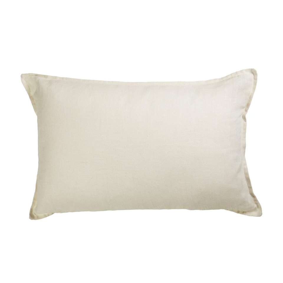 KAAT Amsterdam sierkussen Pagode – wit – 40×60 cm – Leen Bakker