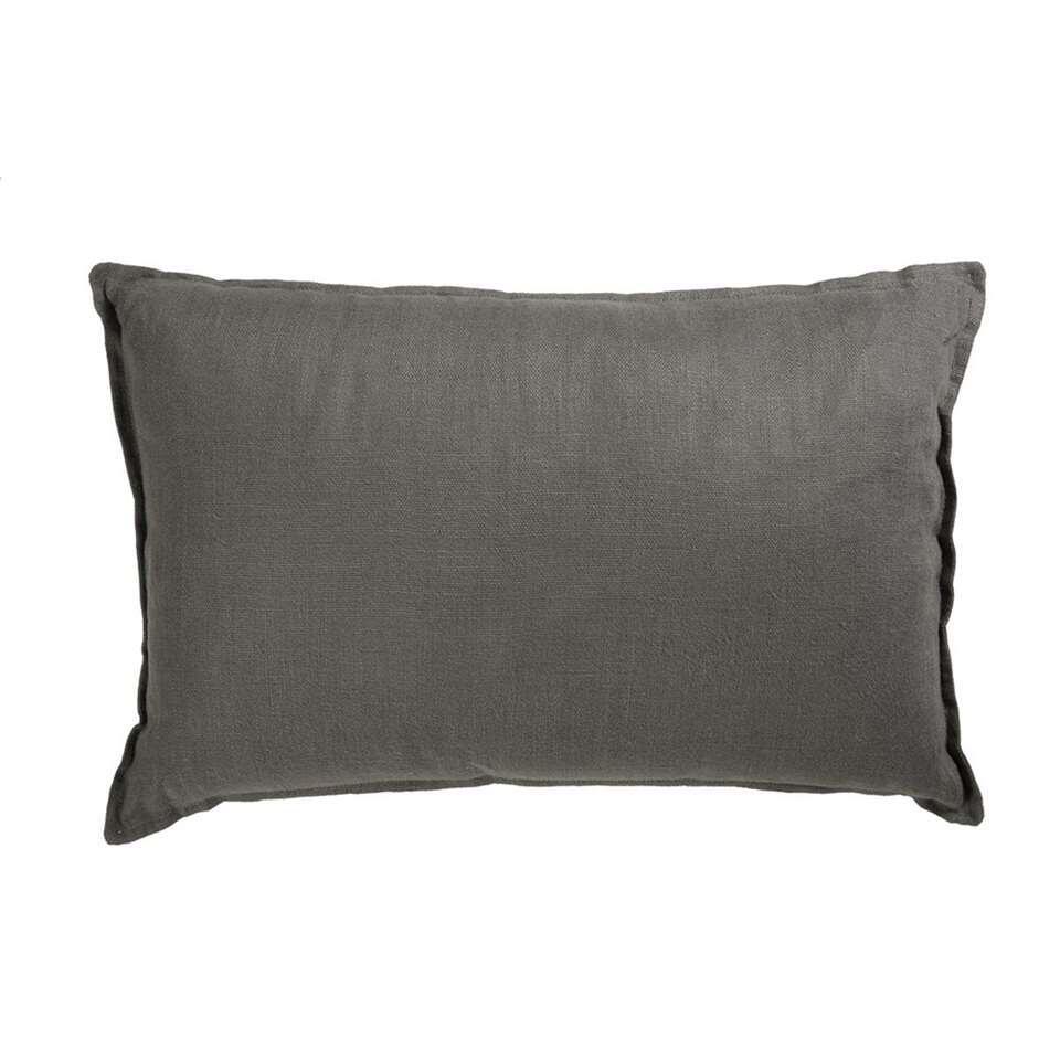 KAAT Amsterdam sierkussen Pagode – grijs – 40×60 cm – Leen Bakker
