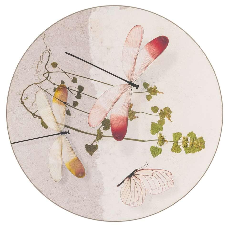 Tarkett vloerkleed Finally Vinyl™ Libel - grijs - Ø200 cm - Leen Bakker