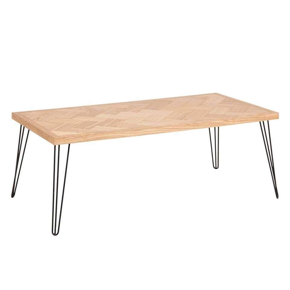 Salontafel Crosby - naturel - 45x120x60 cm