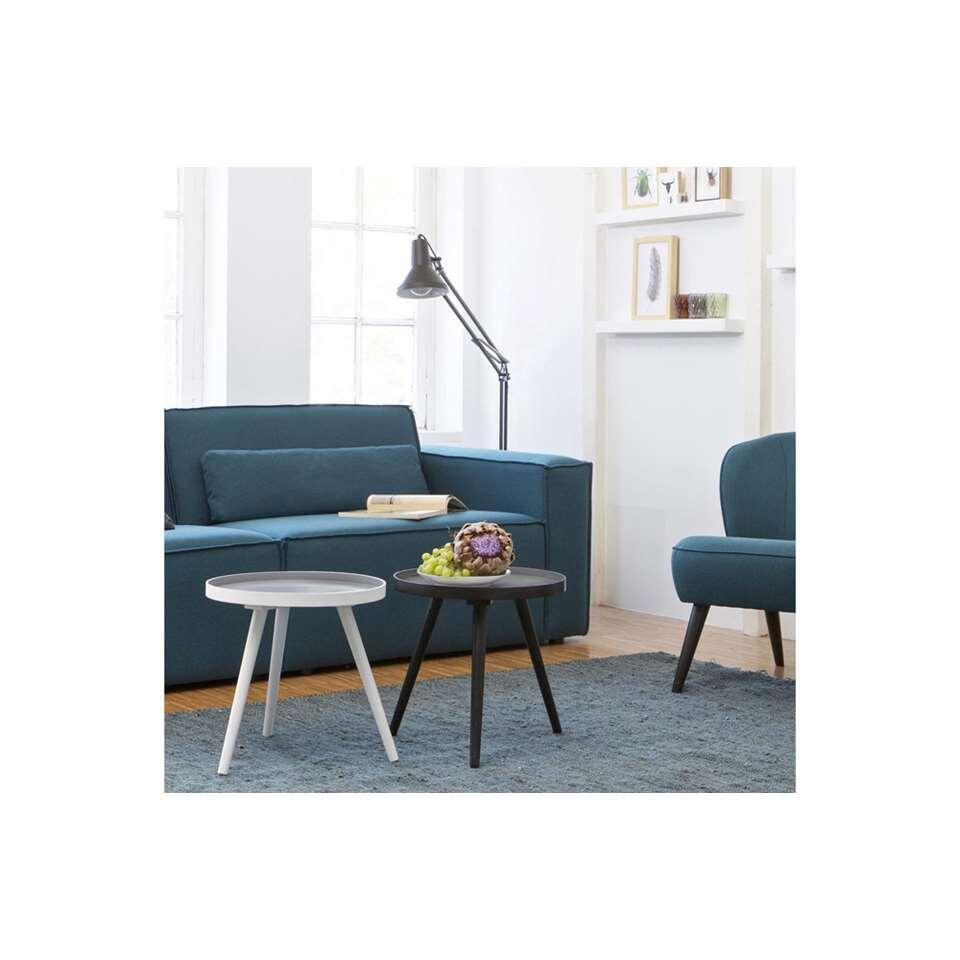Woood table d'appoint Sasha - blanche - 41x41 cm