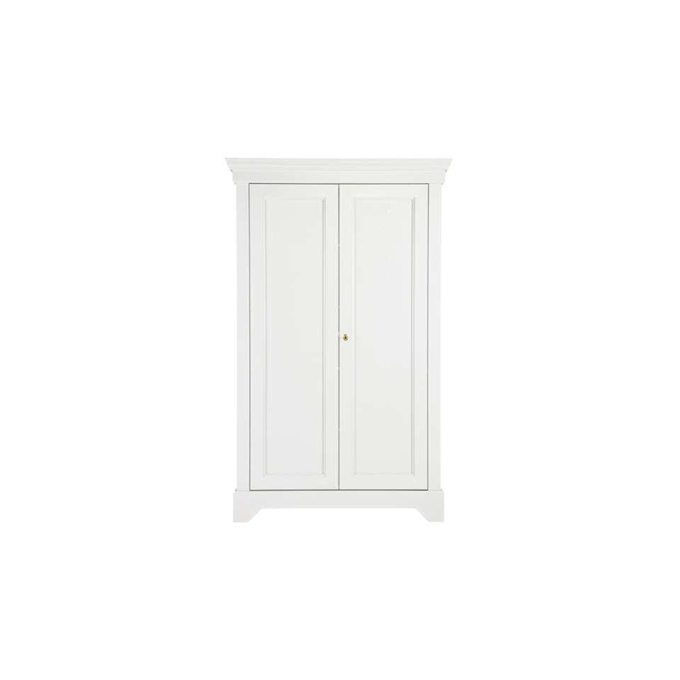 Woood kast Isabel - wit - 191x118x47 cm