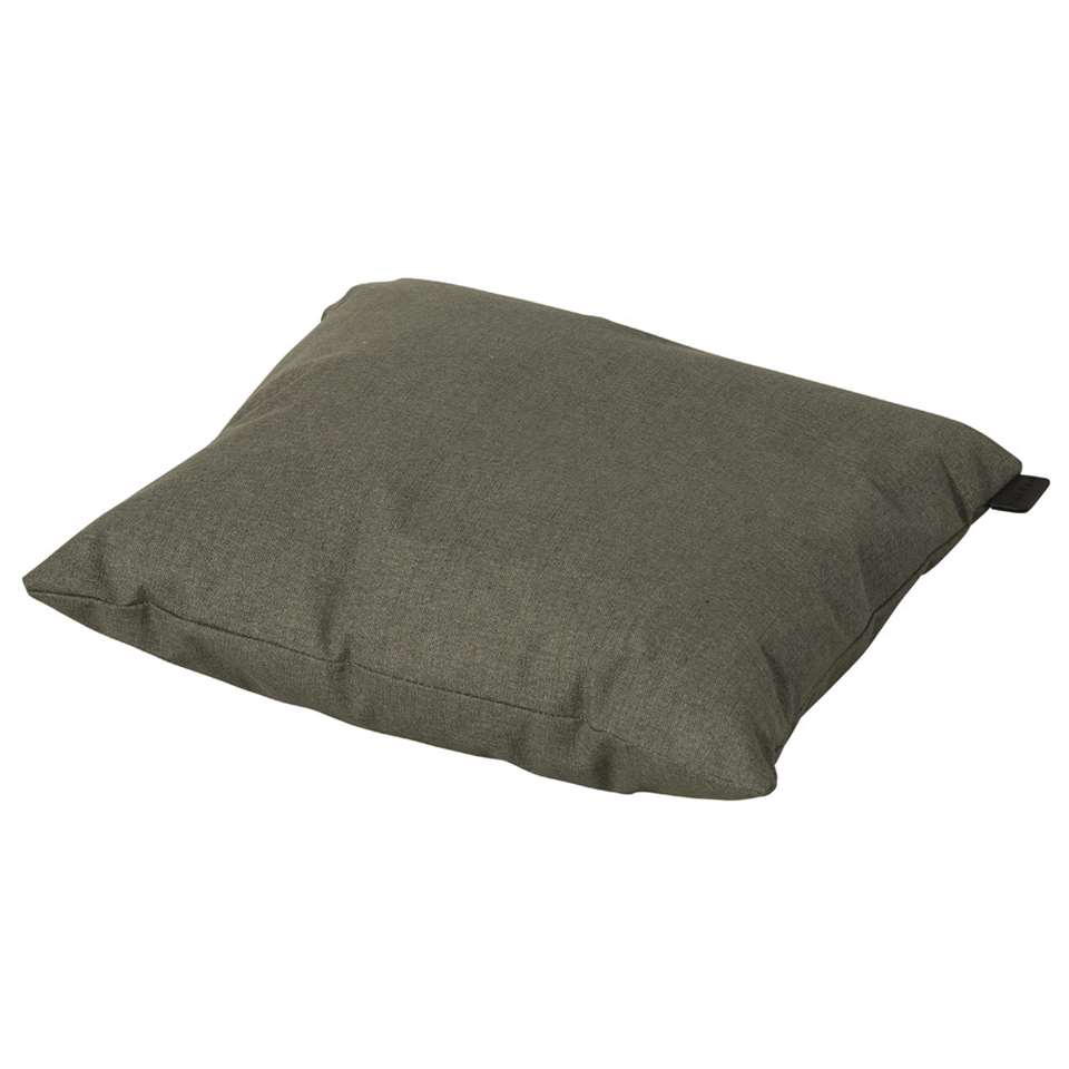 Madison outdoor sierkussen Oxford - groen - 45x45 cm - Leen Bakker