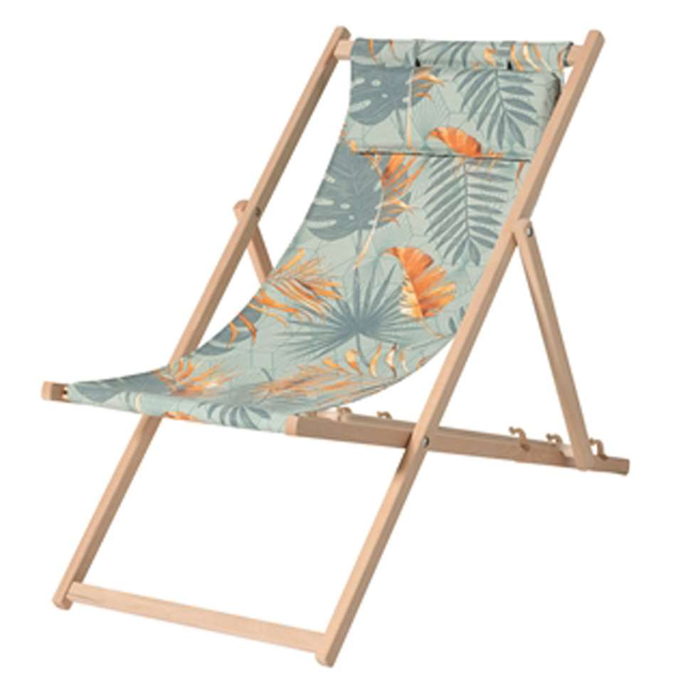 Madison strandstoel outdoor Dotan - blauw - Leen Bakker